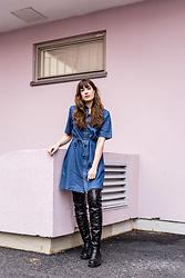 Andrea Funk / andysparkles.de -  - Denim Dress