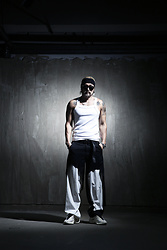 INWON LEE - Byther Tank Top, Byther Pants - Dark