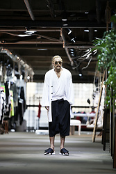 INWON LEE - Byther Cardigan, Byther Pants - White with Black