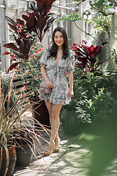 Kimberly Kong - Red Dress Boutique Periwinkle Floral - Find of the Day: The Periwinkle Floral Mini ($24)