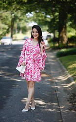 Kimberly Kong - Red Dress Boutique Floral Pink Mini - Find of the Day: The Pink Floral Mini ($44)