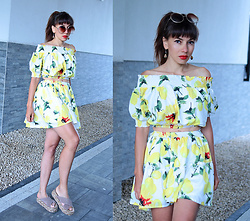 Jointy&Croissanty © -  - Lemon two piece set