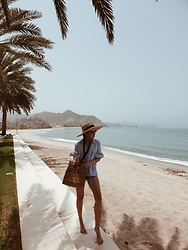 Joicy Muniz - Mango Hat, Second Female Shirt, Mango Bag - Summer