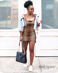 Kelly W -  - Leopard Dress And Sneakers