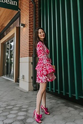 Kimberly Kong -  - Remixing my Pink Floral Minidress