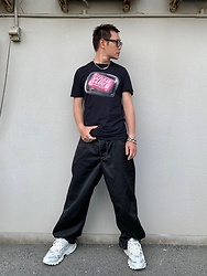 ★masaki★ - Fight Club Movie Tee, Eytys Titan, Balenciaga Track2, Vitaly Blacelet - FIGHT CLUB